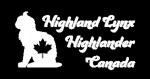 Logo Highland Lynx / Highlander Canada